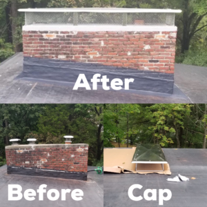 waterproofing chimney natick
